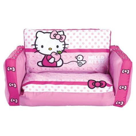 hello kitty sofa chair buy hello kitty inflatable flip out sofa from our kids