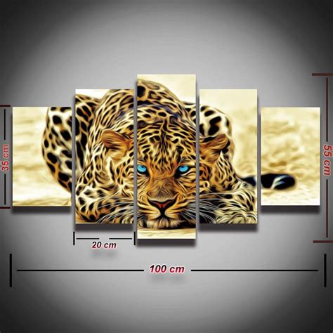 17 best images about home decor animal wall art on pinterest aliexpress com buy framed printed modular picture tiger