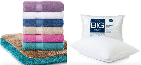 kohls bed pillows kohl s com the big one bath towels and bed pillows at a