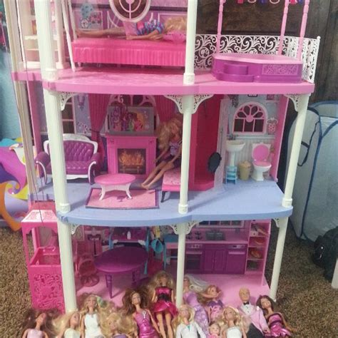 buy barbie dream house best barbie dream house with all barbie stuff for sale in