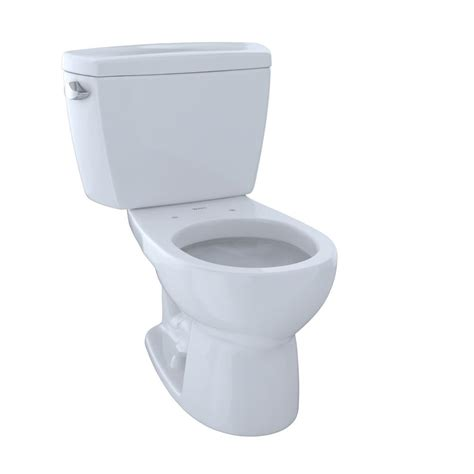 Closet Toto 421 White toto 2 1 6 gpf single flush toilet in cotton white cst743s 01 the home depot
