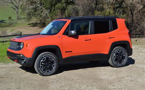 jeep renegade orange the choice of diverse colours such as sierra blue solar