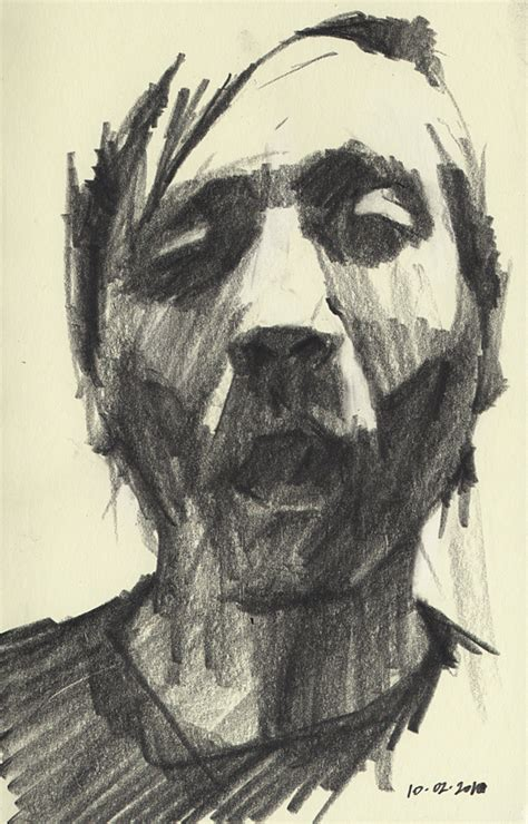 Nate Butkus by Self Portrait Sketching