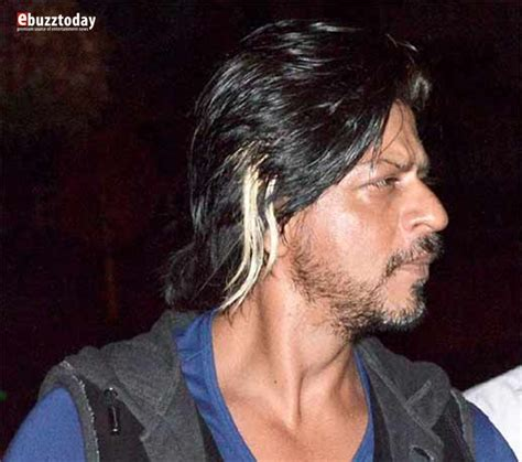 srk hair transplant spotted shah rukh khan in new look for happy new year