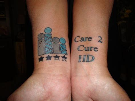 tattoo disease pictures 17 best images about huntington s disease awareness on