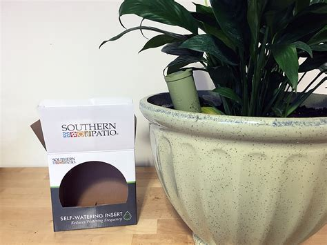 Southern Patio Planters by How To Use A Self Watering Insert Southern Patio