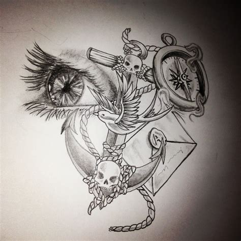 sketch tattoo style my drawing design drawings sketch