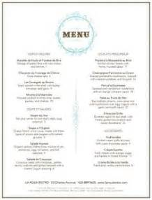 bistro menu template 1000 images about concept on