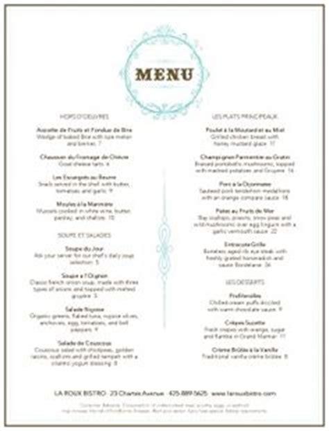 simple restaurant menu template unique design templates menu
