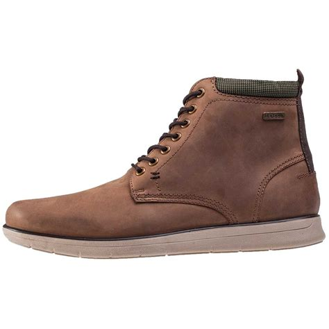 barbour mens boots barbour burdon mens ankle boots in brown