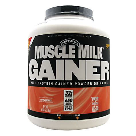Weight Gain Milik cytosport milk gainer supplementstream