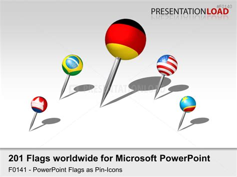 Powerpoint Flag Icons Of The World S Countries Presentationload Flags Of The World Powerpoint