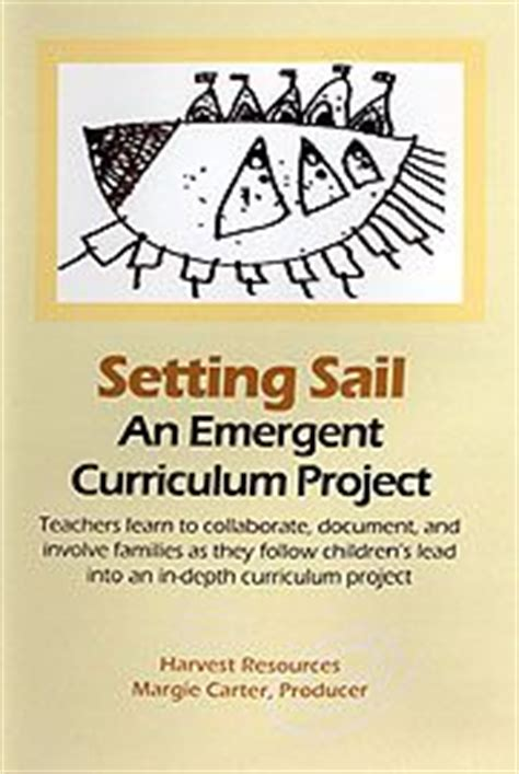 emergent curriculum in early childhood settings from theory to practice second edition books emergent curriculum early childhood lesson plan setting