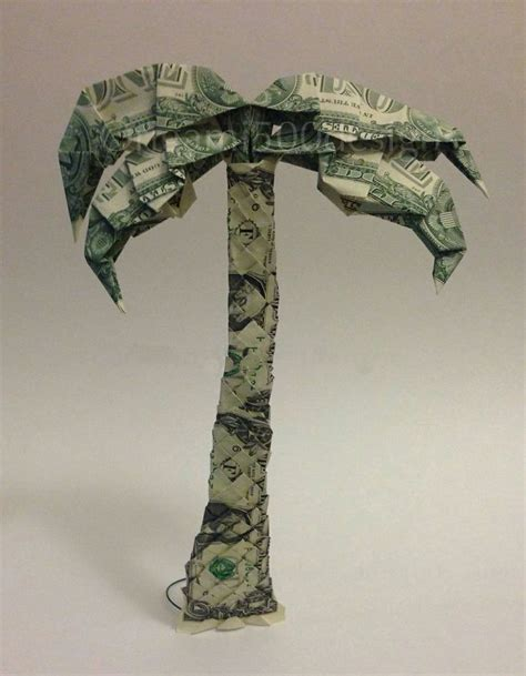 Origami Tree Dollar Bills - 215 best images about money designs on money