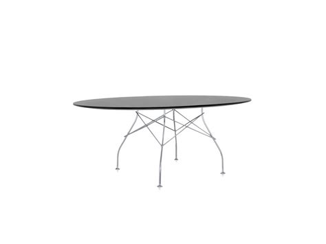 kartell glossy dining table buy the kartell glossy oval dining table at nest co uk