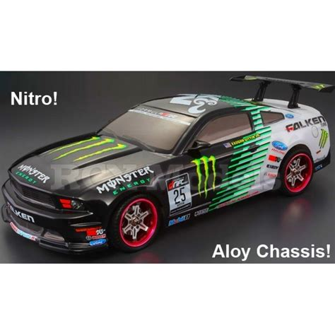 Nitro Auto by Himoto Nitro Rc Car 2 Speed 4x4 Ford Mustang