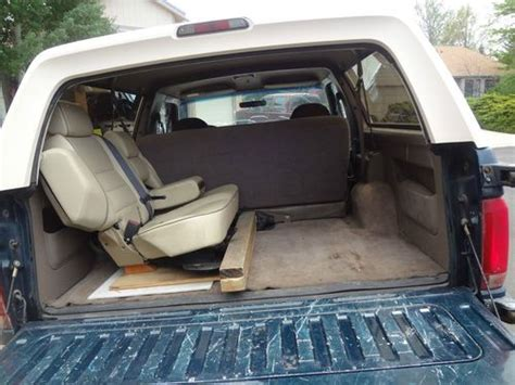 1993 Ford Bronco Interior by Sell Used 1993 Ford Bronco Eddie Bauer Sport Utility 2