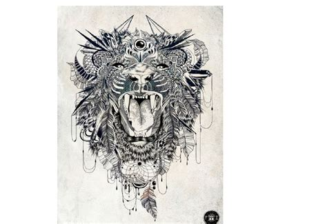 zentangle lion pattern feathered lion tangle zentangle animals pinterest
