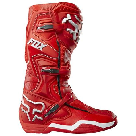 motorcycle racing boots for sale red