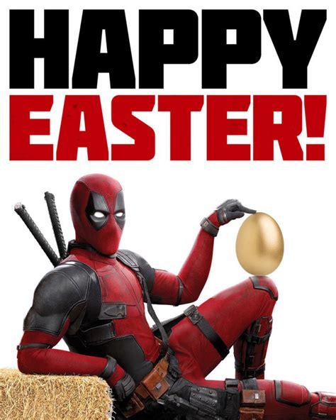 happy easter veckans film new deadpool 2 poster celebrates easter ign