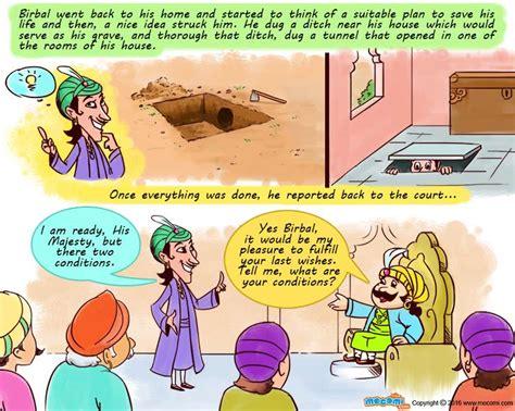 akbar biography in english pdf birbal goes to heaven akbar birbal stories for kids mocomi