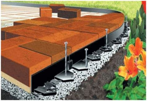 Patio Pavers Edge Restraints Paver Restraint Edging Available At Tlc Supply Quincy
