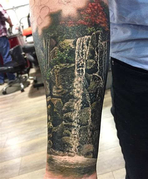waterfall tattoo 25 best ideas about waterfall on
