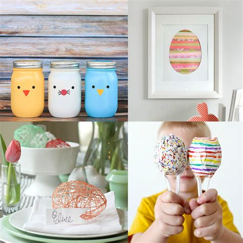 and craft decorations diy easter crafts more creative juice