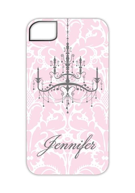 pink chandelier phone pink chandelier iphone 5 5s personalized iphone