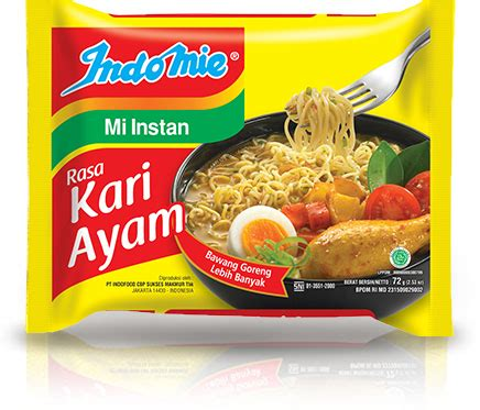 indomie kari ayam 40 s karton warung furniture