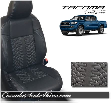 2016 2018 toyota tacoma limited edition leather upholstery
