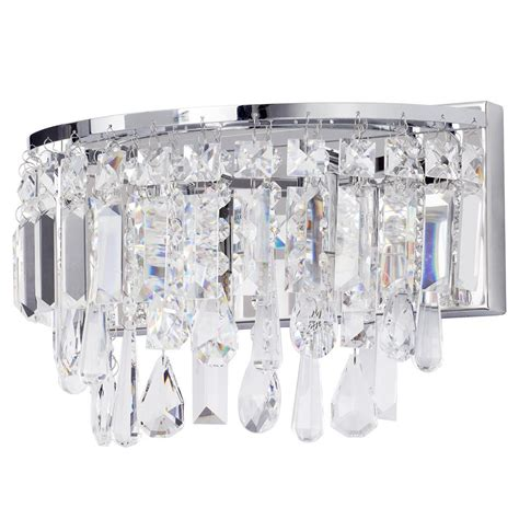 Bathroom Wall Light Bresna Led Marquis By Waterford Led Bathroom Wall Lights