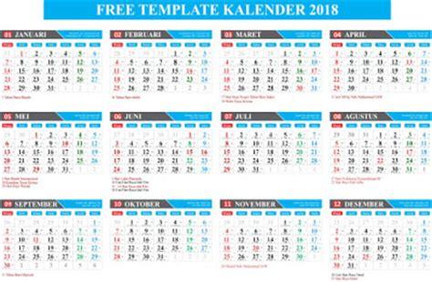 Kalender Meja Hijriyah Plus gratis free template kalender 2018 lengkap