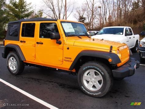 yellow jeep 2012 dozer yellow jeep wrangler unlimited sport s 4x4