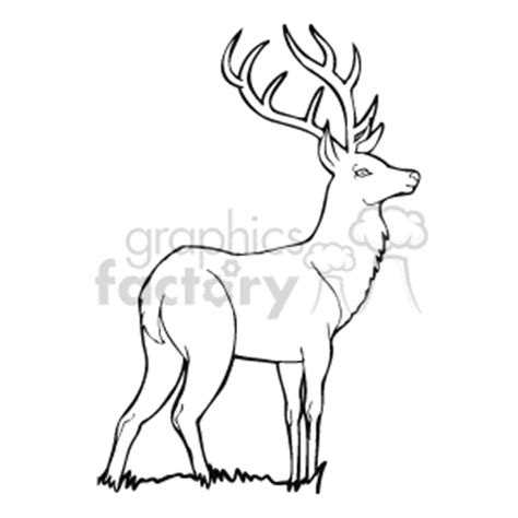 elk clip art image royalty free vector clipart images