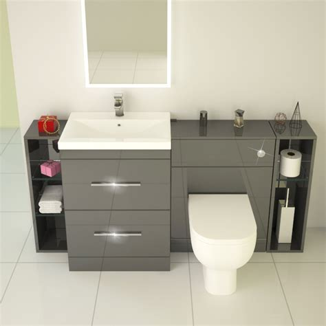 Buy Bathroom Furniture Buy Bathroom Furniture Apollo Bathroom Fitted Furniture Set Black Buy At Bathroom City Modern