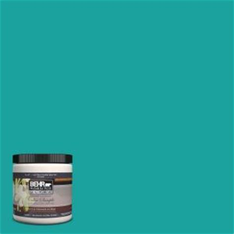 behr premium plus ultra 8 oz home decorators collection tropical sea interior exterior paint