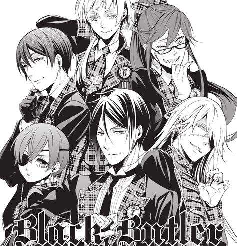 black x black manga news yen press start simulpublication of black butler