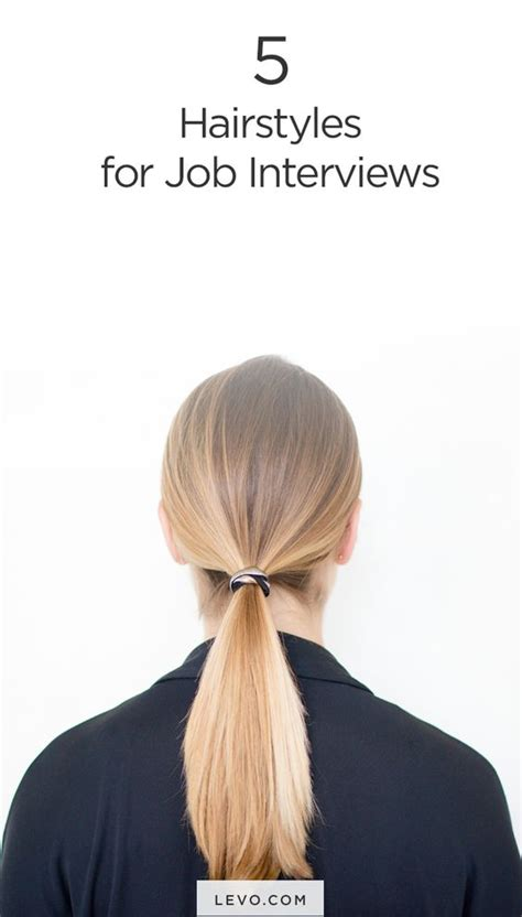 hairstyles for an interview for women 5 power hairstyles that will wow in any interview