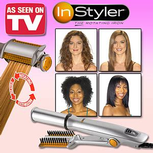 Instyler The Rotating Iron Catok Penggulung Rambut catok rambut instyler rotating iron 2 in 1