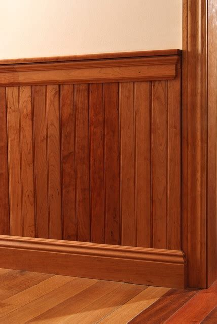 Cherry Wainscoting Panels by Cherry Wainscote Traditional Other By Baird