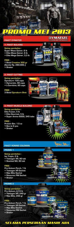 Asli Murah Promo Gumpal Muscletech Hydroxycut Elite Powder 30 Serving promo suplemen dymatize mei 2013 dymatize indonesia pt dni