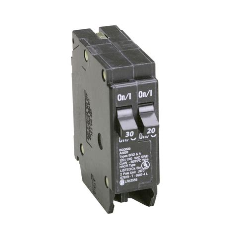 eaton 30 20 single pole type bd tandem br circuit