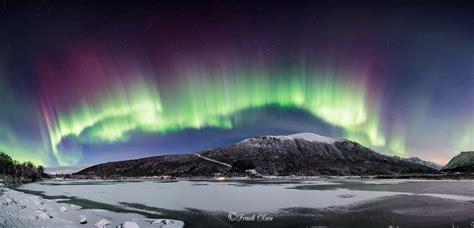ll bean northern lights 2017 nordlys panorama