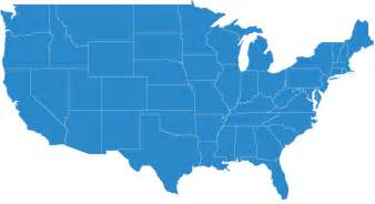 us map and blue states 2015 about us insulated product corp cold chain packaging