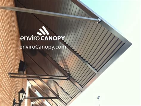 louvre awning louvered awnings envirocanopy