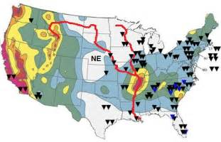 america fault lines map fault lines in the united states midwest