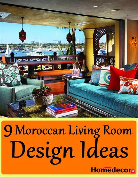 moroccan living room decor 9 moroccan living room design ideas homedecorxp