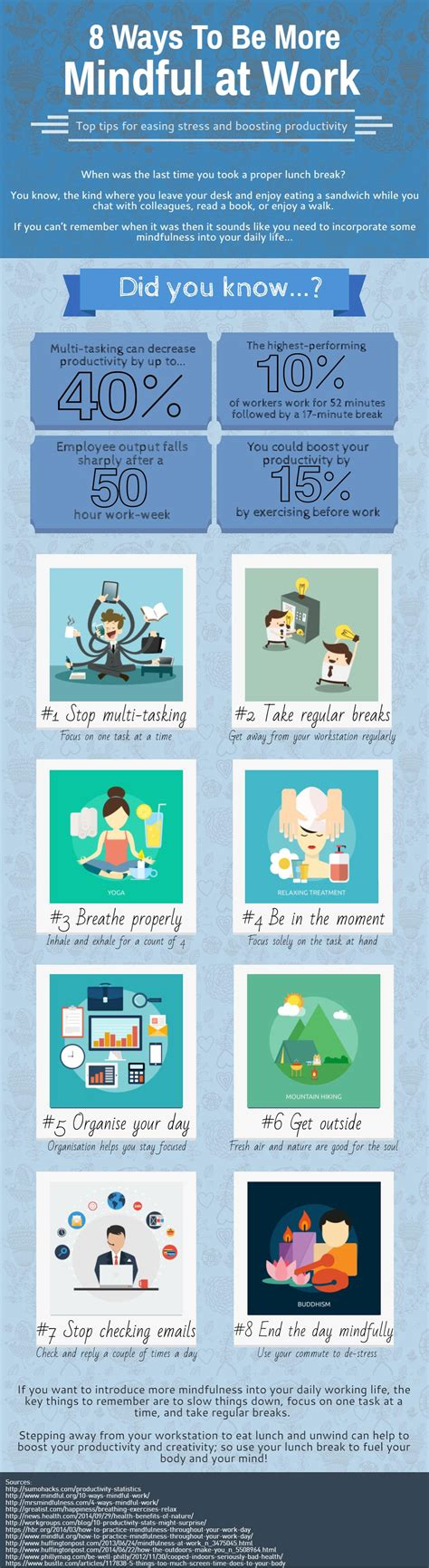 8 Ways To Be More Affectionate by Infographic 8 Ways To Be More Mindful At Work Success