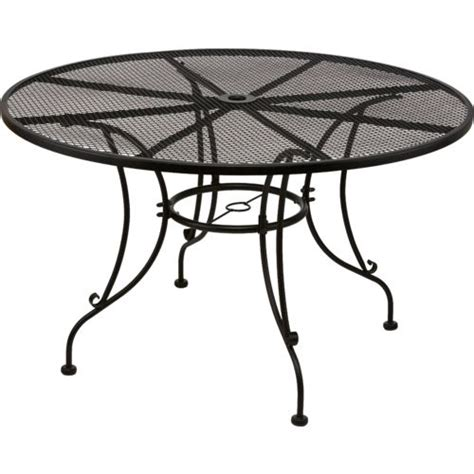 mosaic steel mesh dining table academy